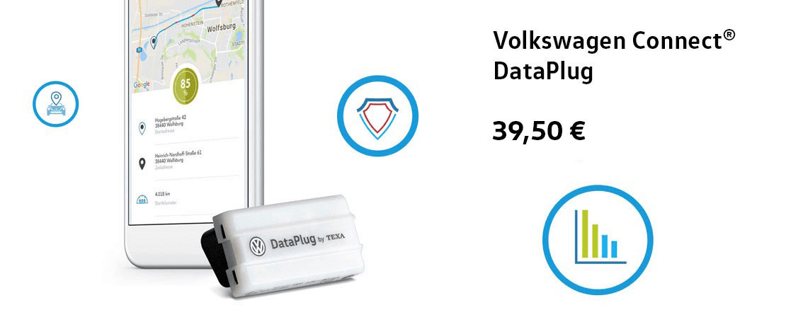 Volkswagen connect DataPlug